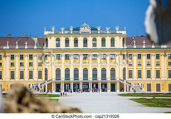 Schonbrunn Palace royal residence - csp21319326