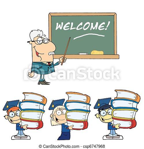 school, 2, welkom - csp6747968