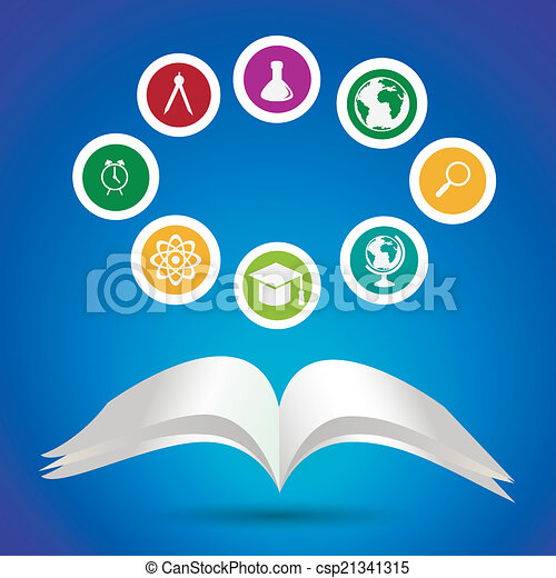 School and education icons - csp21341315