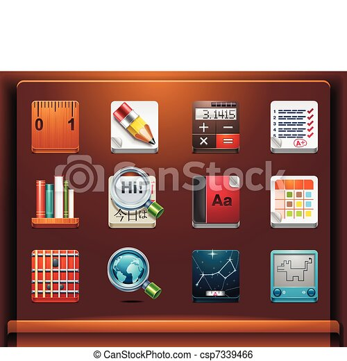 School and educational apps - csp7339466