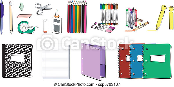 School and Office Supplies - csp5703107