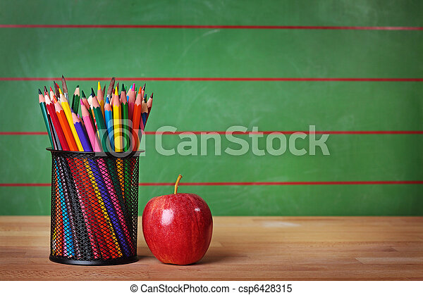 school, back - csp6428315