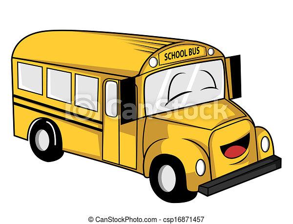 school bus - csp16871457