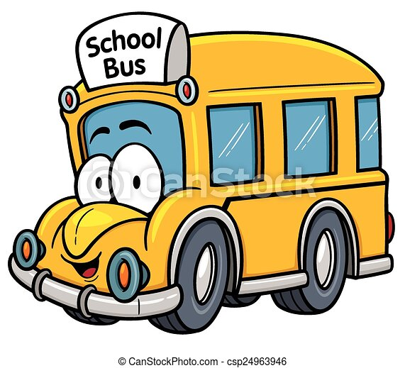 School bus - csp24963946