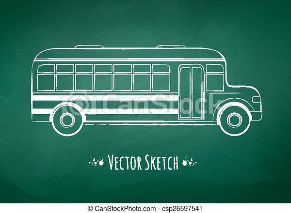School bus.  - csp26597541