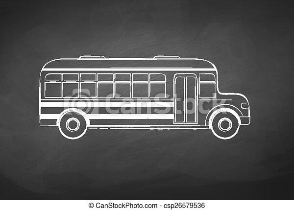 School bus. - csp26579536