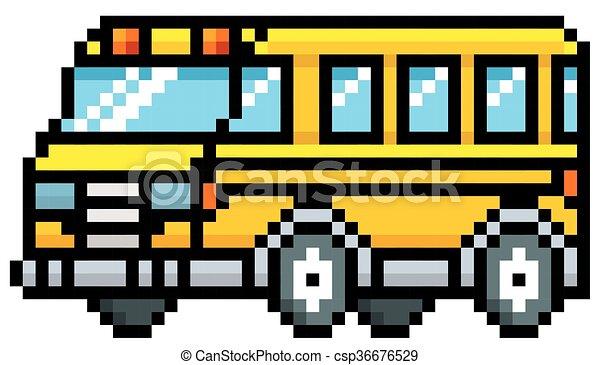 School Bus - csp36676529