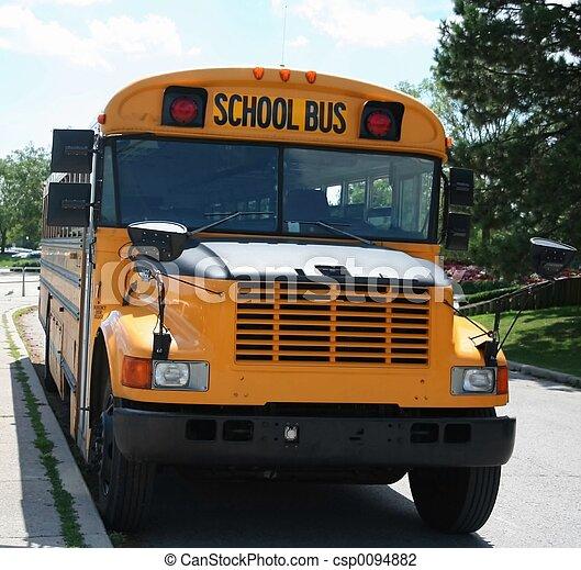 School Bus - csp0094882