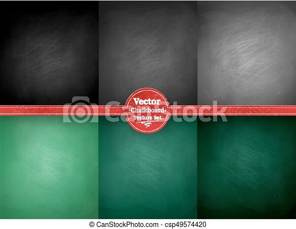 School chalkboard backgrounds - csp49574420