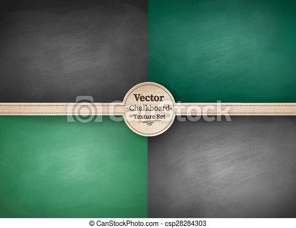 School chalkboard backgrounds. - csp28284303