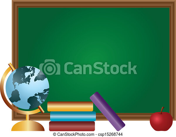 school classroom chalkboard illustration school classroom