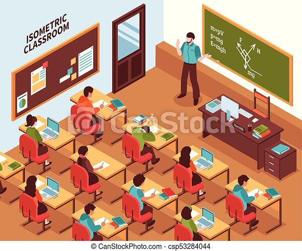 school classroom lesson isometric poster high school chalkboard clipart designs chalkboard clipart black and white