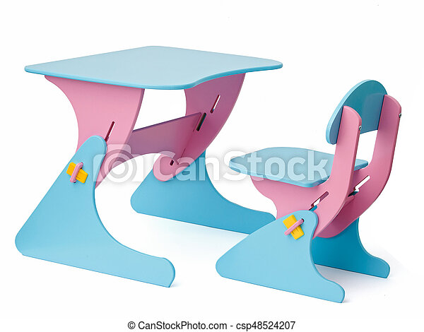 School desk and chair - csp48524207