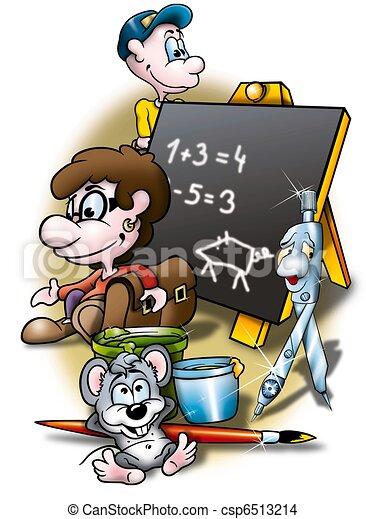 School - csp6513214