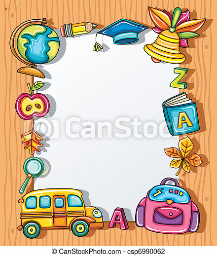School frame - csp6990062