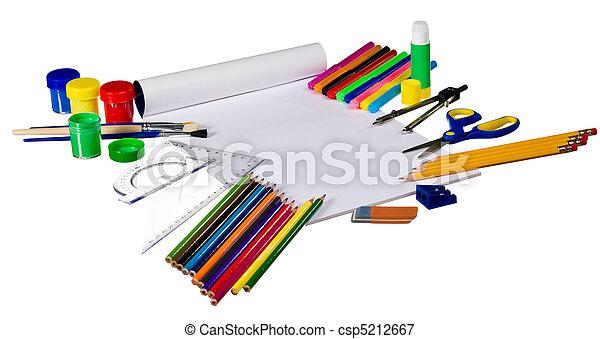 School gear - csp5212667