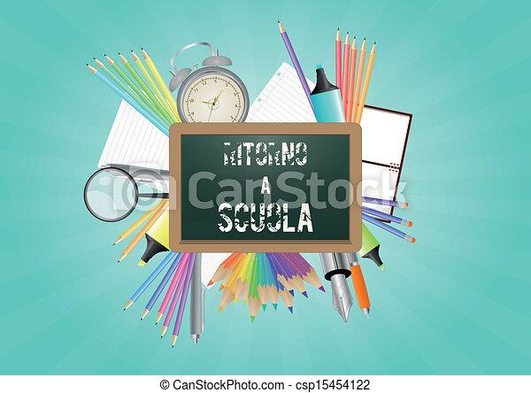 school italian - csp15454122