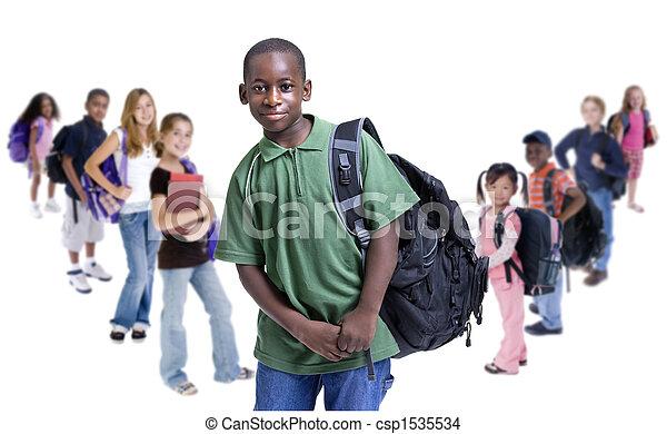 School Kids Diversity - csp1535534