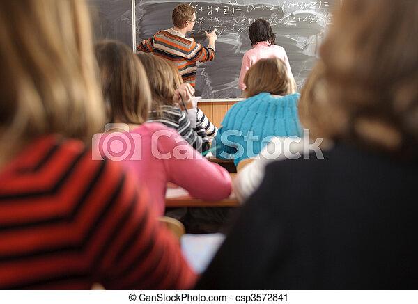 School life routine - csp3572841