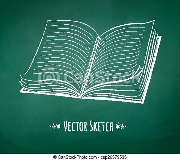 School notebook. - csp26579535