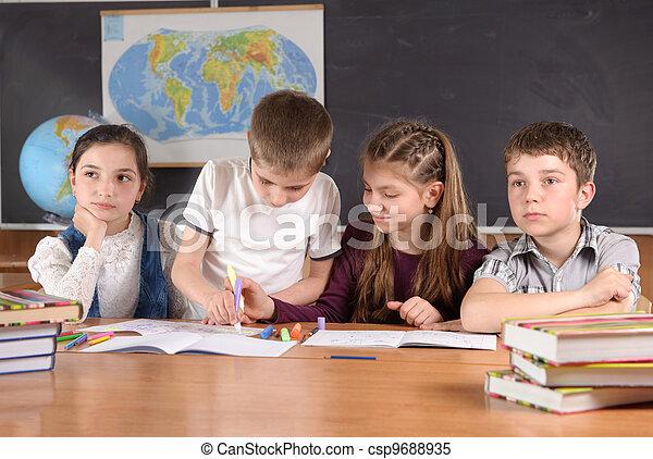 School routine - csp9688935