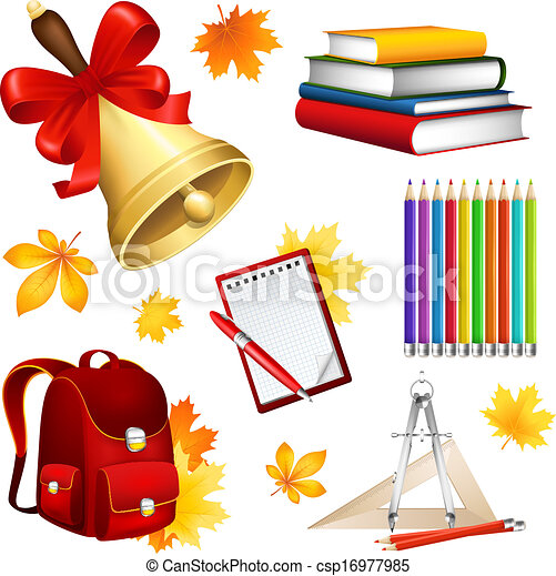 School set - csp16977985