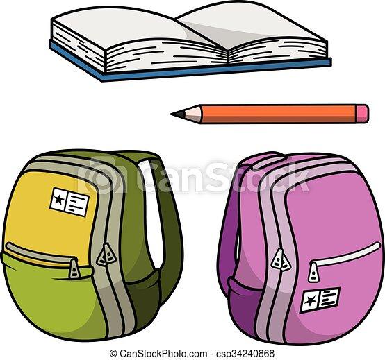 School stationery - csp34240868