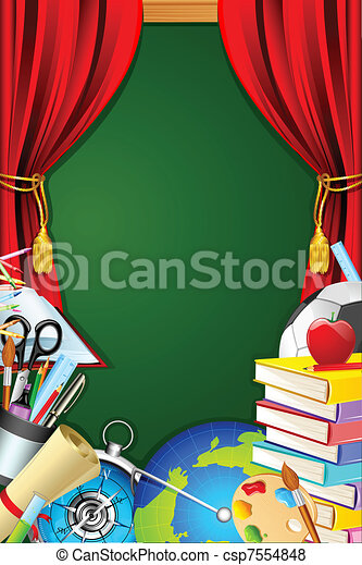 School Stationery - csp7554848