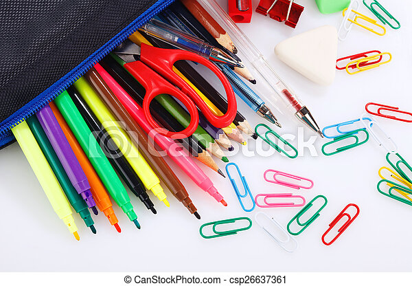 school stationery - csp26637361
