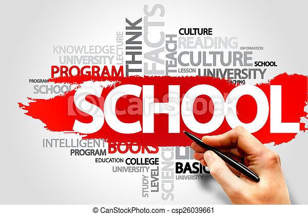 school - csp26039661