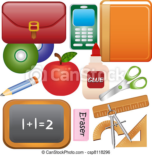 School Supplies - csp8118296