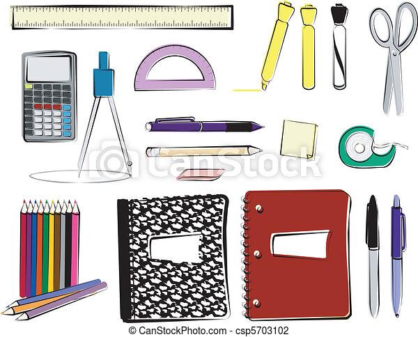 School Supplies - csp5703102