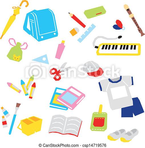 School supplies - csp14719576