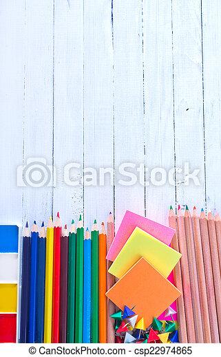 school supplies - csp22974865