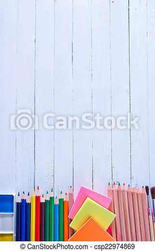 school supplies - csp22974869