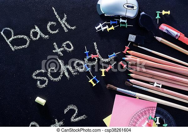 school supplies - csp38261604