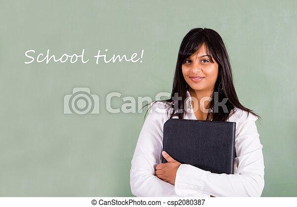 school teacher - csp2080387