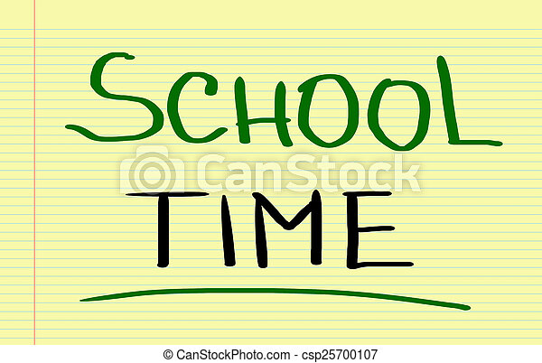School Time Concept - csp25700107