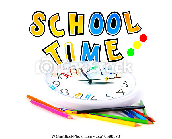 School time - csp10598570