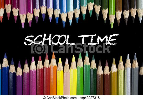 School time - csp43927318