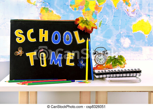 School time - csp8326051