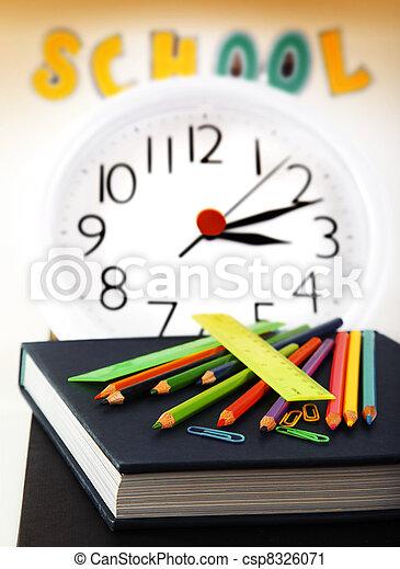 School time - csp8326071