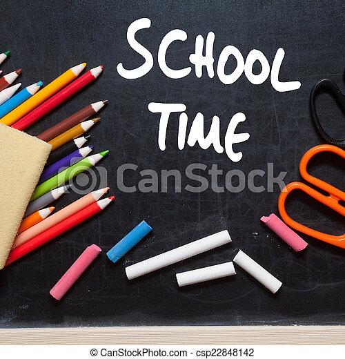 School time - csp22848142