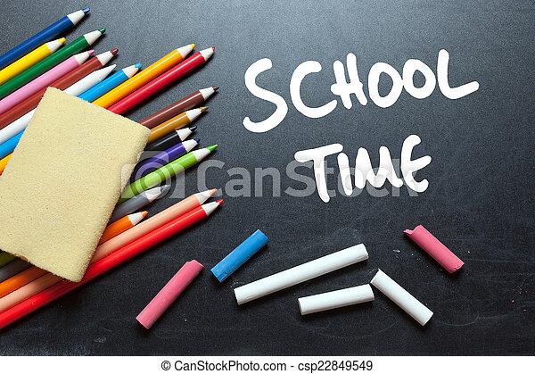 School time - csp22849549