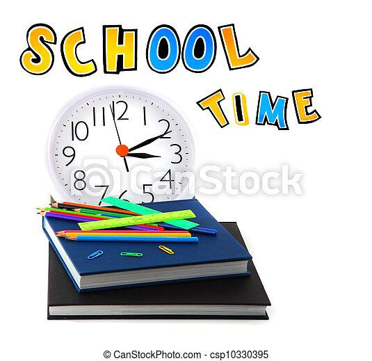 School time - csp10330395