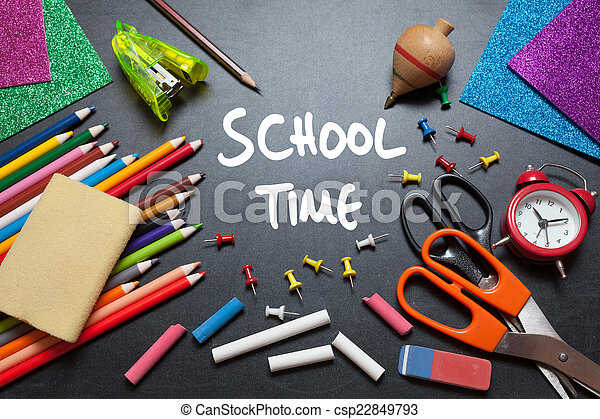 School time - csp22849793