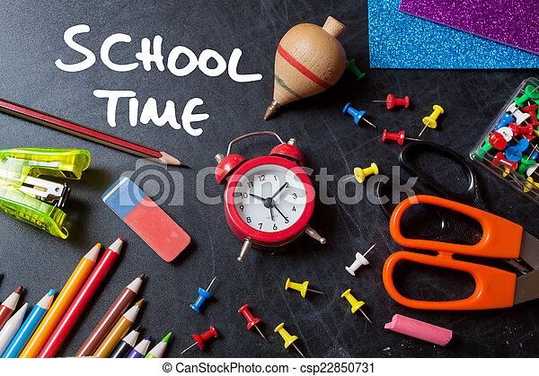 School time - csp22850731