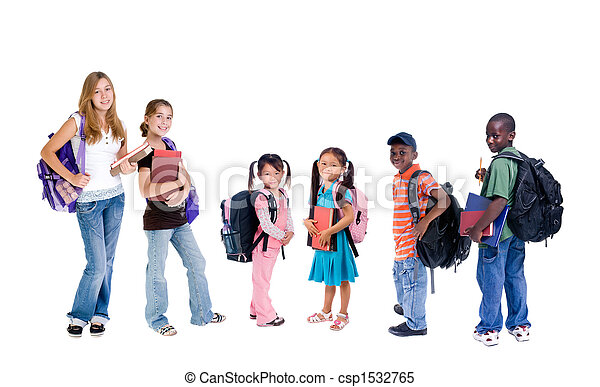 school, verscheidenheid - csp1532765
