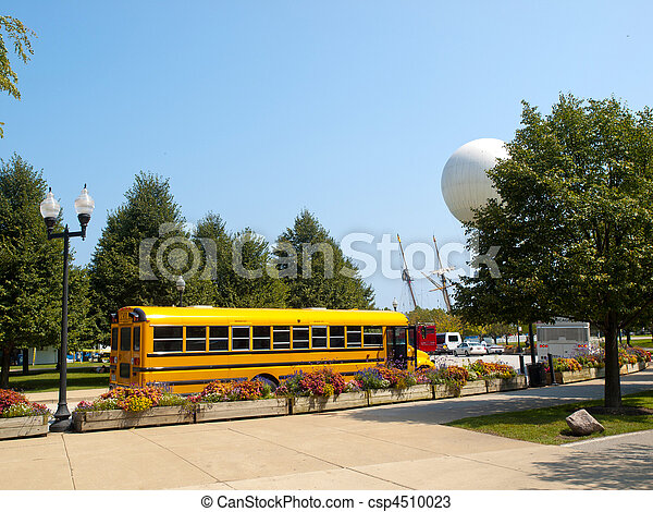 School Yellow Bus - csp4510023