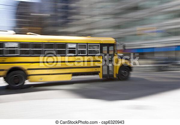 Schoolbus - csp6320943